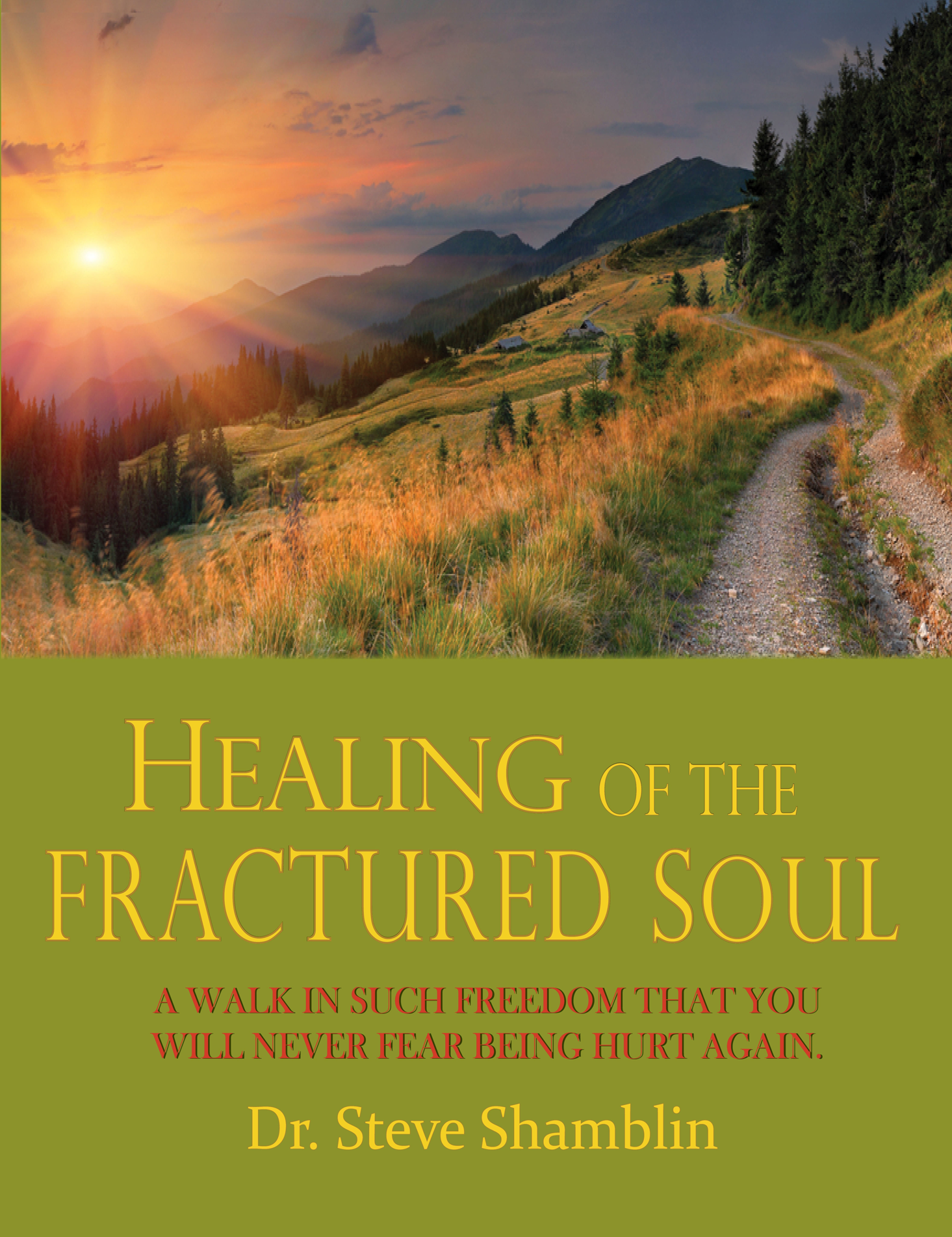 Healing of the Fractured Soul, front cover, teensy