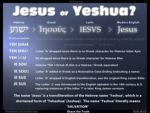How Yeshua became Jesus