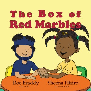 The Box of Red Marbles, FRONT cover, small